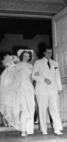 Mae Capone | Al Capone's Son and Daughter In Law Leaving Church from Their Wedding ...