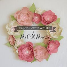 McCall Manor Spring Wreath Silhouette Challenge Spring