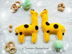 Ravelry: sweet giraffe pattern by ternura amigurumi