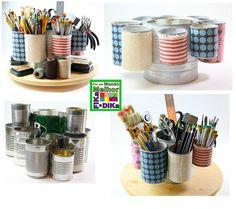 Organização é tudo! Procurar e achar, não tem melhor. Separar, por cor, tamanho, material... Cada um no seu lugar. Também viabiliza os...