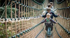 Families at Heligan | The Lost Gardens of Heligan