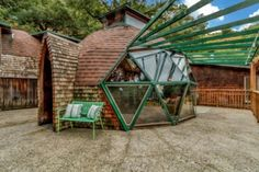 Hand Built Geodesic Dome Cabin near San Fransisco