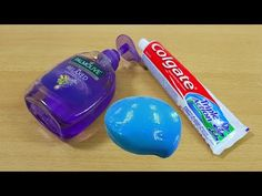 How to make slime without glue toothpaste and hand soap without slime with shampoosalt and shaving foam no glueno borax slime recipe 3 ingredients slime ccuart Image collections