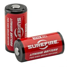Surefire batteria CR123A litio 3 volt
