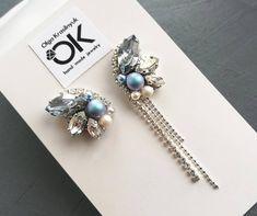 Unique Earrings, Beaded Earrings, Earrings Handmade, Beaded Jewelry, Handmade Jewelry, Pandora Charms Rose Gold, Diy Friendship Bracelets Patterns, Beaded Brooch, Embroidery Jewelry