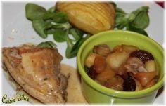 Pintade aux coteaux du Layon, Recette de Pintade aux coteaux du Layon par Claryss - Food Reporter