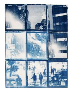 Cyanotype by Poramit Thantapalit