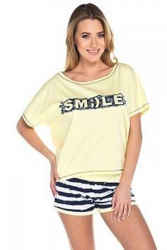 Italian Fashion Smile kr.r. kr.sp. piżama