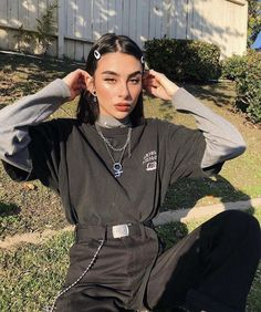Alexis saldana grungeoutfits suivez votre fille b b y pour plus ~ creds to original pinners ~ alexis creds fille grungeoutfits saldana suivez votre new image shared by find pictures and v Grunge Outfits, Edgy Outfits, Mode Outfits, Retro Outfits, Vintage Outfits, Egirl Fashion, Grunge Fashion, Fashion Outfits, Fasion