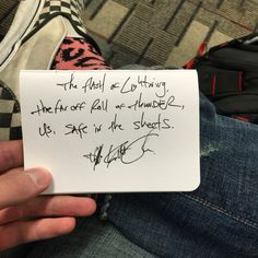 """The flash of lightning, the far off roll of thunder, us, safe in the sheets."" — 	Daily Haiku on Love by Tyler Knott Gregson"