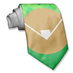 Celebrate Opening Day with the Baseball Diamond Tie. $29.95.