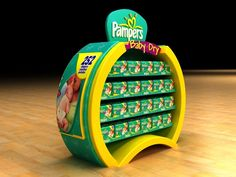 PAMPERS STAND by Asaad Abbas, via Behance
