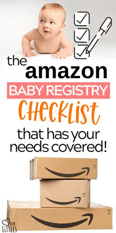 This is regularly updated amazon baby registry checklist has all of your mom to be baby needs covered! See the essential baby stuff and must haves you should be putting on your baby registry. Get tips on how to set up your amazon baby registry to get the most freebies and perks! Baby Registry Checklist, Best Amazon Products, Amazon Clothes, Amazon Baby, Baby Needs, Baby Online, Online Registry, Mom, Tips