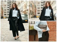 Ms.Little's Bag, Asos Sweater, Asos Leather Pants, Sophia Webster Heels