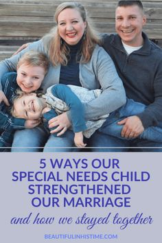 "5 Ways our Special Needs Child Strengthened Our Marriage | ""Whether it is a child with special needs, or something else, we had to wake up and understand that our marriage was not something to discard when life gets harder."" #specialneeds #marriage #autism Marriage Help, Strong Marriage, Marriage Advice, Military Marriage, Communication In Marriage, When Life Gets Hard, Raising Godly Children, Special Needs Kids, Mom Advice"