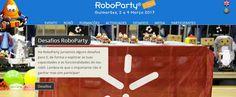 RoboParty - 2 to 4 MAR 2017 @GUIMARAES    ARoboPartyconsiste num evento pedagógico que reúne equipas de 4 pessoas durante 3 dias e duas noites (traz o teu saco cama) para ensinar a construir robôs móveis autónomos de uma forma simples divertida e com acompanhamento por pessoas qualificadas.   Inicialmente é dada uma curta formação (para aprender a dar os primeiros passos em Eletrónica programação de robôs e construção mecânica) depois é entregue um KIT robótico desenvolvido pela…
