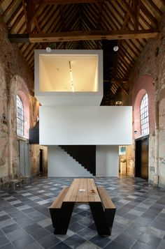 This Chapel-Turned-Office in Belgium Is Unbelievably Cool - Dwell