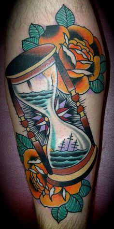 Hourglass Tattoo Designs: Strength Hourglass Tattoos ~ tattooeve.com Tattoo…