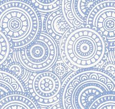 navy / indigo blue schumacher fabric
