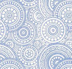 navy / indigo blue schumacher fabric