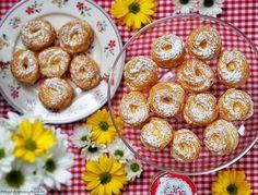 Tvarohová bábovka s citronovou polevou a ostružinami – PĚKNĚ VYPEČENÝ BLOG Cake Art, Food Art, Doughnut, Cupcakes, Breakfast, Blog, Drinks, Morning Coffee, Drinking