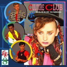 Culture Club -  Colour By Numbers - Virgin - Warner Bros Music - 205 730 - Vinyl, LP, Album - 1983