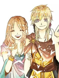 Marga and Titus from Magi