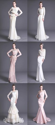 Wedding dresses...
