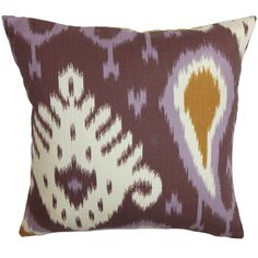 Bentshaya 22-inch Down Feather Throw Pillow