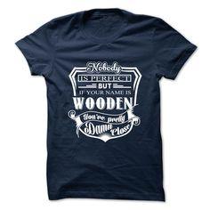 WOODEN T-Shirts, Hoodies. GET IT ==► https://www.sunfrog.com/Camping/WOODEN-138996921-Guys.html?id=41382