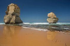 Great Ocean road Victoria #twelveapostles #greatoceanroad #landscape #ig_captures #ig_exquisite #ig_landscape #ignation #au #aus #amazing #australia #vic #victoria #visitvictoria #travel #beach #seascape #sea #rocks #rockformation #thetwelveapostles #calm #serene #sunny #reflection @greatoceanroad @twelveapostles @australia #tourismaustralia by cannondigital