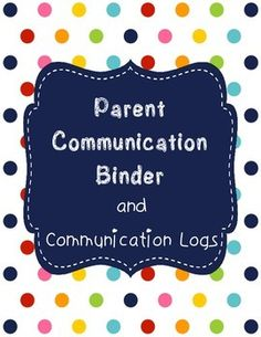 Use this parent communication binder to keep track of all of those calls, emails, etc. Stay organized by keeping them all in one place:) They'll come in handy for SSTs, parent conferences, etc.This is part of the Back to School Growing Bundle. Check it out before you buy this - you might like it better:)Back to School Bundle: never-ending, expanding, growing bundleEnjoy!Looking for more fun stuff for your classroom that would be handy to have at the beginning of the school year?