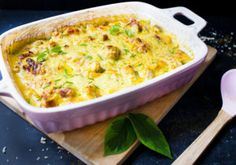Fast low carb kohlrabi curry chicken casserole - My CMS Fast Low Carb, Low Carb Keto, Low Carb Recipes, Chicken Casserole, High Protein, Macaroni And Cheese, Avocado, Food Porn, Healthy
