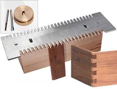 MLCS Pins and Tails Through Mini Dovetail Template