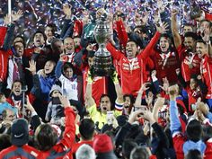 Chile Campeones de América!!!!!! First They Came, Fitness, Champs
