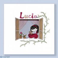 Cuadro infantil personalizado: La ventana (ref. 23025-01)