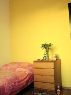 My yellow wall (: