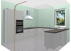 Large Kitchen Design Inspirationglossy Grey Kitchen With Dark Glamorous Design Your Kitchen Online Free Design Decoration