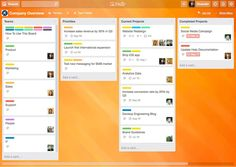 Company Overview: Keep track of all your team's moving pieces.