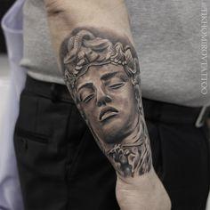 Zeus Tattoo, Jellyfish Tattoo, Tattoo Photos, Black And Grey, Tattoos, Style, Tatuajes, Swag, Tattoo