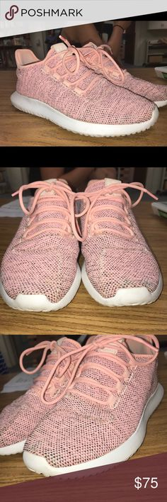 Women's Adidas Tubular Shadow Worn twice. Size 8. Color: coral haze adidas Shoes Athletic Shoes