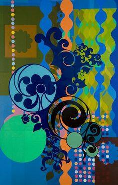 Beatriz Milhazes : Natural forms + rigorous geometry