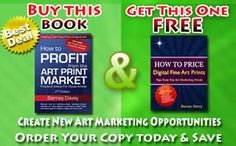 Get useful art marketing books for the price of one. Good deal for great advice! http://www.barneydavey.com/bonus