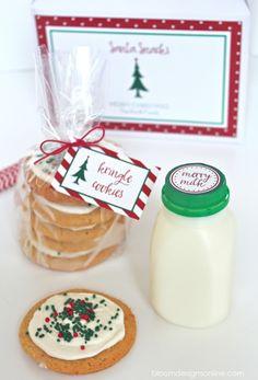 Darling Santa Snacks and Milk Kit!