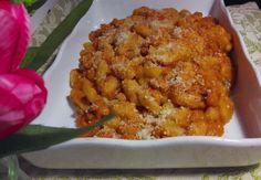 pisarei e fagioli con pancetta