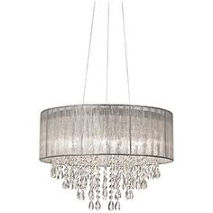 Find this Pin and more on Lighting by khclover.  sc 1 st  Pinterest & 5 Lt Drum Chandelier : VZXE | Magnolia Lighting Inc. | Light ... azcodes.com