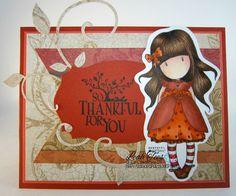 Gorjuss Ladybird for Quick Creations, September 2015, by Leah Tees, odetopaper.blogspot.ca