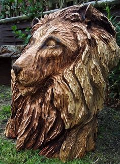 Tree sculptures by Tommy Craggs 'Guerilla artist'