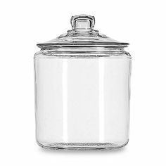 Anchor Hocking® Heritage Hill 1-Gallon Storage Jar - BedBathandBeyond.com- for k-cups that don't fit in the drawer
