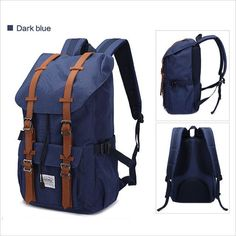 Big Brands the same style Kaukko Fashion waterproof school backpack Women  Men travel Laptop bags backpack f518eb7a68